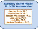 Exemplary Teacher Awards 2011-2012 Academic Year