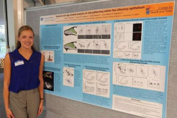 Dana Shively, 3rd Place Undergrad Poster