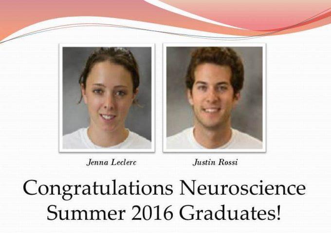 Summer 2016 Grads