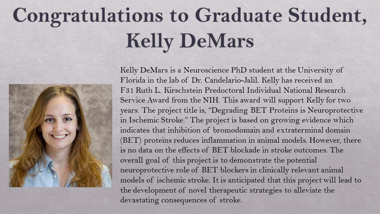 Kelly DeMars congratulations